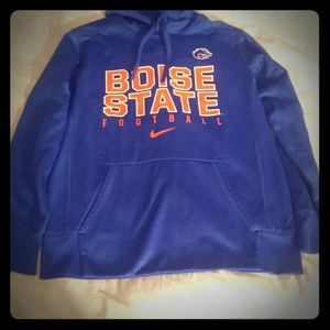 Men's Nike Therma Fit Boise State pullover hoodie